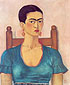 Frida Kahlo, Self-Portrait, 1930, oil on canvas, 25.5 x 21.3 in. / 64.8 x 53.7 cm, US$275