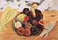 Frida Kahlo, Fruits of the Soil, 1938, oil on canvas, 21.6 x 31.9 in. / 54.8 x 81 cm, US$270