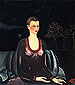 Frida Kahlo, Portrait of Alicia Galant, 1927, oil on canvas, 40 x 35 in / 101.6 x 88.8 cm, US$330