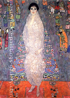 Gustav Klimt, Portrait of Baroness Elisabeth Bachofen-Echt, 1914, oil on canvas, 23.5 x 33.1 in. / 59.8 x 84.2 cm, US$430