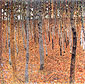 Gustav Klimt, Beech Forest I | Buchenwald, 1902, oil on canvas, 39.4 x 39.4 in. / 100 x 100 cm, US$550