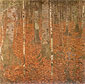 Gustav Klimt, Birch Wood | Birkenwald, 1903, oil on canvas, 43.3 x 43.3 in. / 110 x 110 cm, US$610