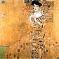 Gustav Klimt, Portrait of Adele Bloch-Bauer I, 1907, oil on canvas, 54.3 x 54.3 in. / 138 x 138 cm, US$800
