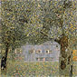 Gustav Klimt, Farmhouse in Upper Austria | Oberosterreichisches Bauernhaus, 1911-12, oil on canvas, 43.3 x 43.3 in. / 110 x 110 cm, US$610