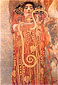 Gustav Klimt, Hygeis (detail from Medicine), 1900, oil on canvas, 24.1 x 36 in. / 61.3 x 91.4 cm, US$480