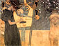Gustav Klimt, Music I | Die Musik I, 1895, oil on canvas, 14.6 x 17.7 in. / 37 x 45 cm, US$270