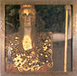 Gustav Klimt, Pallas Athens, 1898, oil on canvas, 29.5 x 29.5 in. / 75 x 75 cm, US$420