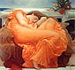 Lord Frederic Leighton, Flaming June, 1895, oil on canvas, 47.6 x 47.6 in. / 121 x 121 cm, US$500