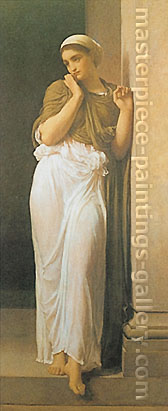 Lord Frederic Leighton, Nausicaa, 1878, oil on canvas, 69 x 31.8 in. / 175.2 x 80.8 cm, US$870.