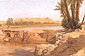 Lord Frederic Leighton, On the Nile, 1868, oil on canvas, 21.1 x 32.4 in. / 53.6 x 82.4 cm, US$330