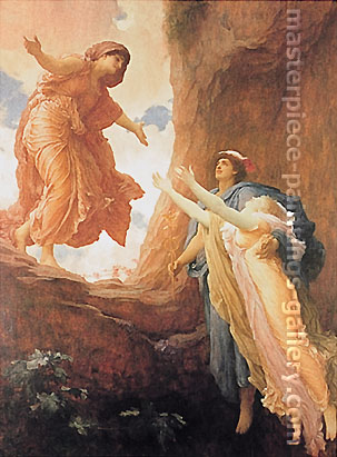 Lord Frederic Leighton, The Return of Persephone, 1891, oil on canvas, 63 x 47.2 in. / 160 x 120 cm, US$800