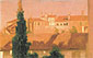Lord Frederic Leighton, Study of House, Venice, oil on canvas, 19 x 30.9 in. / 48.2 x 78.6 cm, US$280
