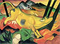 Franz Marc, The Yellow Cow | Die gelbe Kuh, 1911, oil on canvas, 55.1 x 74.8 in. / 140 x 190 cm, US$810