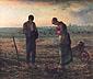 Jean-Francois Millet, The Angelus, 1857, oil on canvas, 21.8 x 26 in. / 55.5 x 66 cm, US$265
