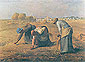 Jean-Francois Millet, The Gleaners | Les Glaneuses, 1857,  oil on canvas, 23.6 x 32 in. / 59.9 x 81.3 cm, US$330