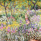 Claude Monet, The Artist's Garden at Giverny, 1900, oil on canvas, 35.8 x 36.8 in. / 91 x 93.5 cm, US$320