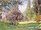 Claude Monet, Au Parc Monceau | The Parc Monceau, Paris, 1876, oil on canvas, 23.5 x 32.5 in. / 59.7 x 82.6 cm, US$299