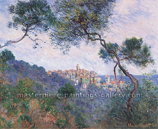 Claude Monet, Bordighera, Italy (W 852), 1884, oil on canvas, 23.6 x 28.8 in. / 60 x 73 cm, US$420