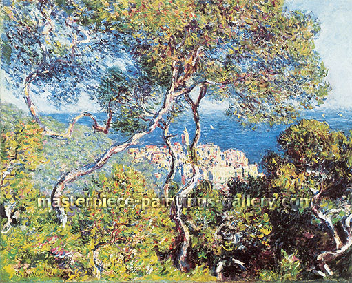 Claude Monet, Bordighera (W 854), 1884, oil on canvas, 25.5 x 32 in. / 64.8 x 81.3 cm, US$450