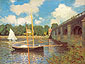 Claude Monet, Bridge at Argenteuil | Le Pont Routier, 1874,  (W 312) oil on canvas, 23.6 x 31.9 in. / 60 x 81 cm, US$360