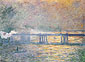 Claude Monet, Charing Cross Bridge, 1903, oil on canvas, 28.7 x 39.4 in. / 73 x 100 cm, US$335