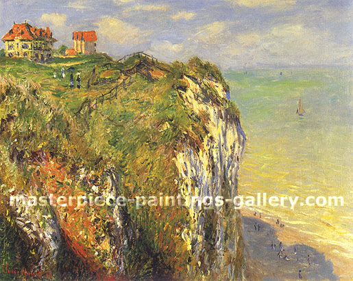 Claude Monet, Cliffs at Dieppe, 1882