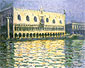 Claude Monet, The Dog's Palace, Venice, 1908, oil on canvas, 25.6 x 39.4 in. / 65 x 100 cm, US$340