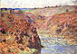Claude Monet, Eaux Semblantes at Fresselines on the Creuse, 1889, oil on canvas, 25.6 x 36.2 in. / 65 x 92 cm, US$300