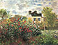 Claude Monet, Garden at Argenteuil, 1873, oil on canvas, 23.8 x 32 in / 60.5 x 81.3 cm, US$330