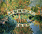 The Japanese Bridge at Giverny, 1892, oil on canvas, 38 x 39.5 in / 96.5 x 100.4 cm, US$290