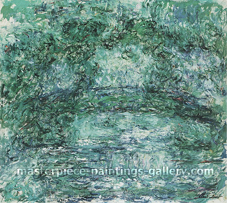 Claude Monet, The Japanese Footbridge, 1920-22, oil on canvas, 35.2 x 45.8 in. / 89.5 x 116.3 cm, US$900