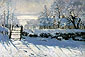 Claude Monet, Magpie (W 133), 1869, oil on canvas,  36 x 52.6 in / 91.4 x 133.6 cm, US$530