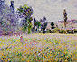 Claude Monet, The Meadow, 1879, oil on canvas, 32 x 39.3 in. / 81.3 x 99.7 cm, US$320