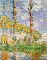 Claude Monet, Poplars in Sunlight, 1891, oil on canvas, 36.6 x 28.9 in. / 93 x 73.5 cm, US$300