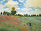 Claude Monet, Poppy Field at Argenteuil | Poppies at Argenteuil | Wild Poppies | Les Coquelicots a Argenteuil, 1873 (W 274) oil on canvas, 24.6 x 32 in. / 62.5 x 81.3 cm, US$340