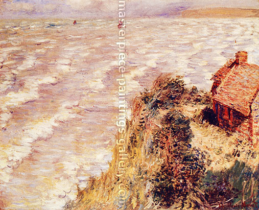 Claude Monet, Rising Tide at Pourville, 1882, oil on canvas,  25.9 x 32 in. / 65.9 x 81.3 cm, US$450