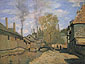 Claude Monet, The Robec Stream at Rouen (W 206), 1872, oil on canvas, 19.7 x 25.6 in. / 50 x 65 cm, US$280