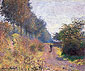 Claude Monet, The Sheltered Path, 1873, (W 288) oil on canvas, 21.5 x 25.8 in. / 54.5 x 65.5 cm, US$300