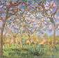 Claude Monet, Spring | Spring at Giverny | Le Printemps, Giverny  (W 1620), 1900, oil on canvas, 35.4 x 36.2 in. / 90 x 92 cm, US$330