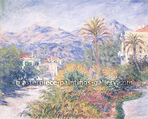 Claude Monet, Strada Romana in Bodighera (W 855), 1884, oil on canvas, 25.6 x 32 in. / 65 x 81 cm, US$450