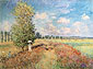 Claude Monet, Summer, Field of Poppies | L'Ete, Champ de Coquelicots (W 377), 1875, oil on canvas, 23.6 x 31.9 in. / 60 x 81 cm, US$320