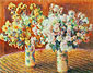Claude Monet, Two Vases of Chrysanthemums | Deux Vases de Chrysanthemums, 1888, oil on canvas, 28.7 x 36.2 in. / 73 x 92 cm, US$300