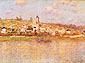 Claude Monet, Vetheuil, 1878, oil on canvas, 23.6 x 32.1 in. / 60 x 81.6 cm, US$330