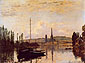 Claude Monet, View of Rouen | Vue de Rouen,1872, oil on canvas, 21.3 x 29.5 in. / 54 x 75 cm, US$280