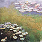 Claude Monet, Water Lilies, 1914, oil on canvas, 47.2 x 47.2 in. / 120 x 120 cm, US$570