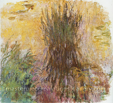 Claude Monet, Water-Lilies 4, 1914-19, oil on canvas, 59.1 x 53.1 in. / 150 x 135 cm, US$525