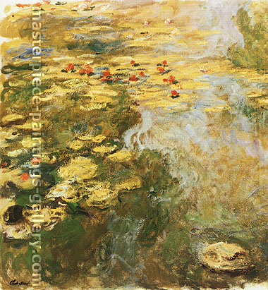 Claude Monet, Water-Lily Pond, 1917-19, oil on canvas, 38.4 x 59.1 in. / 97.5 x 150 cm, US$720