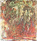 Claude Monet, Weeping Willow, 1920-22, oil on canvas, 43.3 x 39.4 in. / 110 x 100 cm, US$370