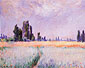Claude Monet, The Wheat Field, 1881, oil on canvas, 25.8 x 32 in. / 65.5 x 81.3 cm, US$260