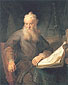 Rembrandt van Rijn, The Apostle Paul, 1635, oil on canvas, 23.6 x 20.5 in. / 60 x 52 cm, US$300